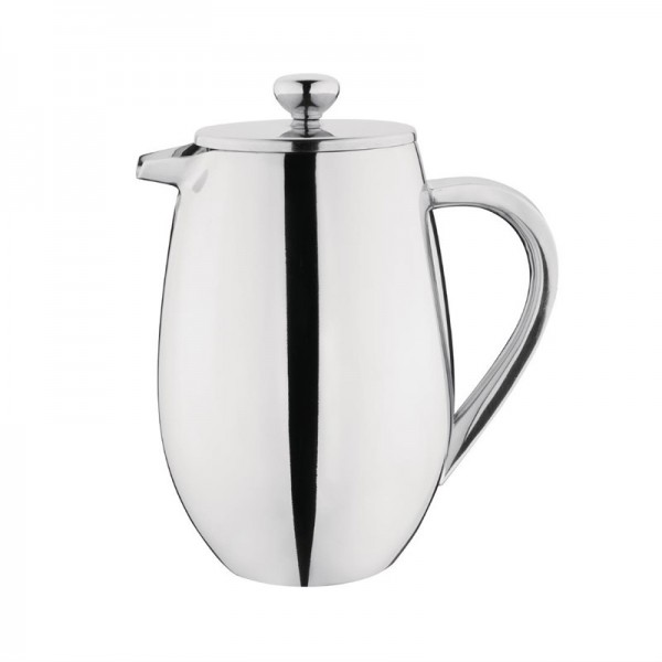 Olympia gerundete isolierte French Press Edelstahl 80cl